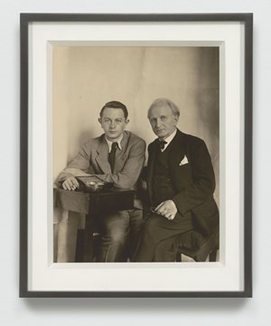August und Gunther Sander (August and Gunther Sander) by August Sander contemporary artwork