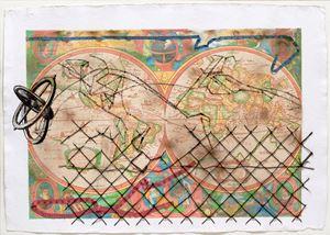 Anatomy of Distance by Reena Saini Kallat contemporary artwork