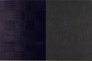 dna study: mini:three by McArthur Binion contemporary artwork