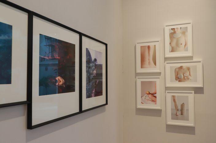 Exhibition view: Au Tze Long, Ben Felten & Michael Kenna, NUDE STUDIES 裸體研究,Blue Lotus Gallery, Hong Kong (13 May–13 June 2021).Courtesy Blue Lotus Gallery.