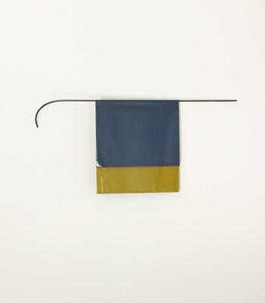 Blue Ochre by Helen Calder contemporary artwork