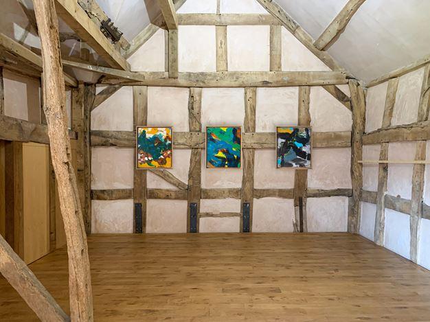 Exhibition view: Anthony White,Anthony White at The Rodd, Sidney Nolan Trust(21 May–25 June 2020). Courtesy Informality.