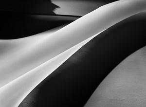 Sand dunes in Ili Dama, Tadrar, South of Djanet, Algeria by Sebastião Salgado contemporary artwork