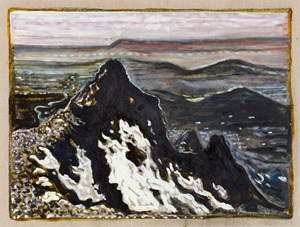 Norwegian Mountain by Billy Childish contemporary artwork