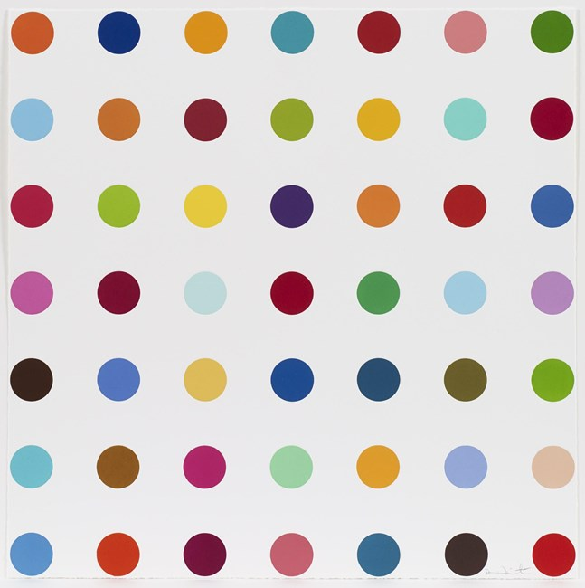 Mannitol by Damien Hirst contemporary artwork