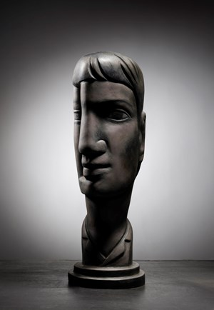 Head Shrine Boy by Terry Stringer contemporary artwork