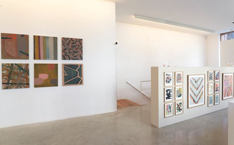 Exhibition view: Arpaïs Du Bois,(pour) retendre l'atmosphère, Gallery FIFTY ONE, Antwerp (27 February–24 April 2021). Courtesy Gallery Fifty One.