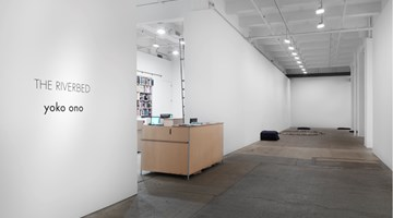 Contemporary art exhibition, Yoko Ono, THE RIVERBED at Galerie Lelong & Co. New York, New York