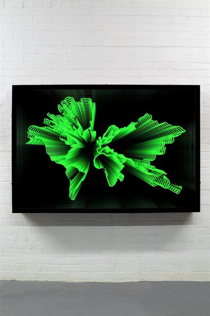 Sediments by Iván Navarro contemporary artwork