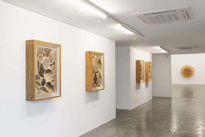 Exhibition view: Marco A. Castillo, Propiedad del Estado, Galeria Nara Roesler, São Paulo (10 June–24 July 2021). Courtesy the artist and Galeria Nara Roesler. Photo:©Flávio Freire.