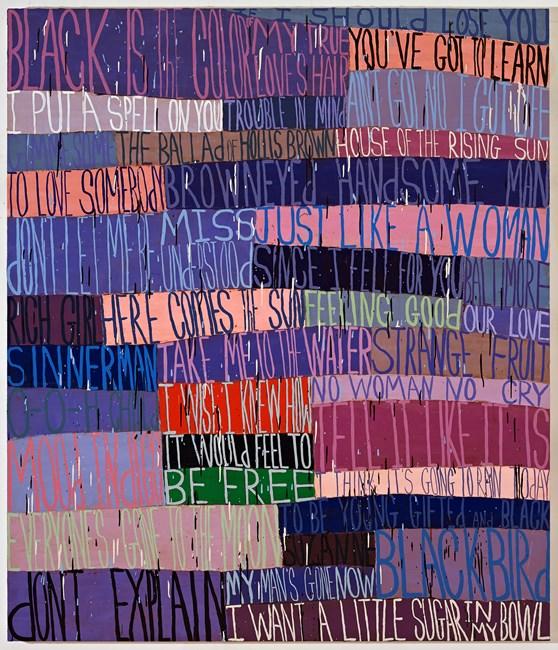 Nina by Squeak Carnwath contemporary artwork