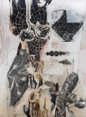 Palindrome/Anagram Painting by Jitish Kallat contemporary artwork