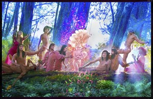 The First Supper by David LaChapelle contemporary artwork