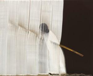 Brushstrokes-Diagram by Hyun-Sook Song contemporary artwork
