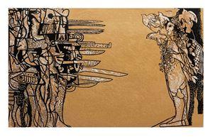 Jenin: 23.3.2012 by Dia Al-Azzawi contemporary artwork print