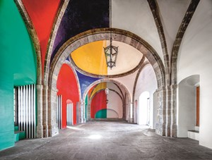 Hospicio Cabañas Capilla Tolsá from Daniel Buren work in situ Guadalajara by Candida Höfer contemporary artwork