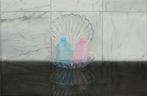 Complimentary His & Hers by Emily Hartley-Skudder contemporary artwork