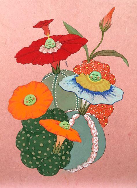Origin of desire - Birth of the joy - by Mari Ito contemporary artwork