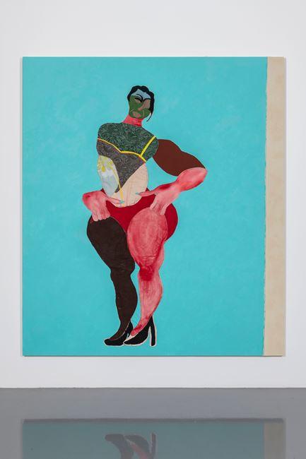 Leotard by Tschabalala Self contemporary artwork