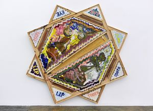 Cantanheade Portrait by Mike Cloud contemporary artwork
