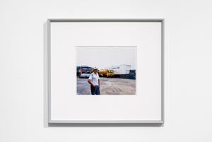 Lorry Driver in Cap, Yorkshire by Paul Graham contemporary artwork