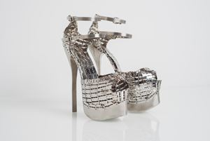 Her Stilettos 2 by Tayeba Lipi contemporary artwork