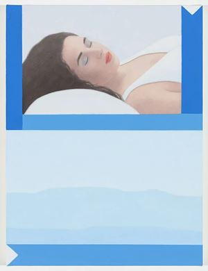 Dream Painting, Blue Ridge by Ridley Howard contemporary artwork