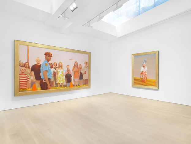 Exhibition view: Bo Bartlett,Miles McEnery Gallery, 525 West 22ndStreet, New York (13 May–19 June 2021). Courtesy the artist andMiles McEnery Gallery, New York, NY. Photo: Christopher Burke Studio.