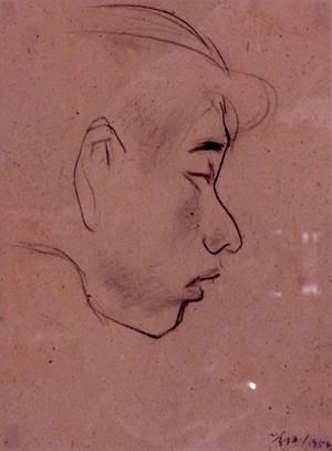 54-01Human 54-01 人物 by Ho Kan contemporary artwork