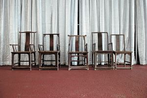 Fairytale Chairs by Ai Weiwei contemporary artwork
