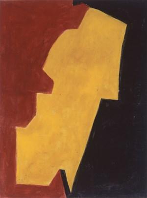 Rouge, Jaune et Noir by Serge Poliakoff contemporary artwork
