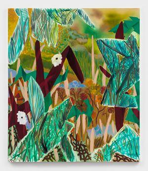 Broken Up For You by Shara Hughes contemporary artwork