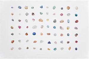 Painting is Collecting: Stones No. 16 by Guo Hongwei contemporary artwork