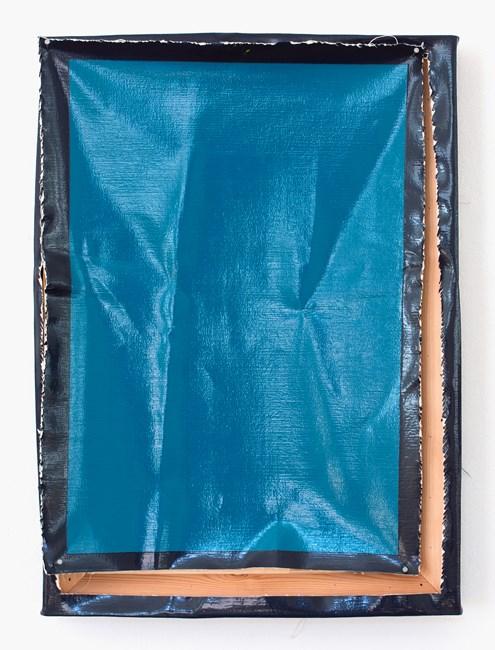 Tapa Azul by Angela De La Cruz contemporary artwork