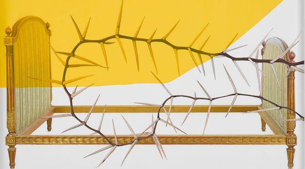 Contemporary art exhibition, Silvia Giambrone, Thorns at Richard Saltoun Gallery, London