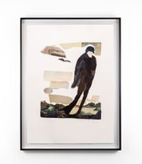 Pestilence (After Aubrey Beardsley) by Kate Gottgens contemporary artwork painting, works on paper, photography, print