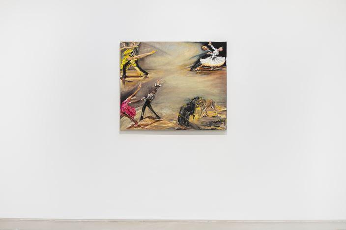 Exhibition view: Group Exhibition, Greene Naftali Gallery at Galerie Chantal Crousel: Arrangement in Gray, Galerie Chantal Crousel, Paris (17 October 2020–14 January 2021). Courtesy Galerie Chantal Crousel, Paris. Photo: Martin Argyroglo.