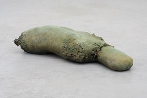 Patinated Torso by Mark Manders contemporary artwork