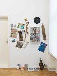 """""""L'Abécédaire de Georges Adéagbo: la civilisation parlant et faisant voir la culture""""..! by Georges Adeagbo contemporary artwork installation, mixed media"""