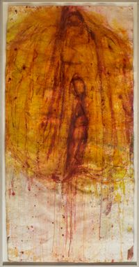Ohne Titel by Martha Jungwirth contemporary artwork painting, works on paper