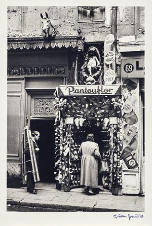 Pantouflour by Gisèle Freund contemporary artwork