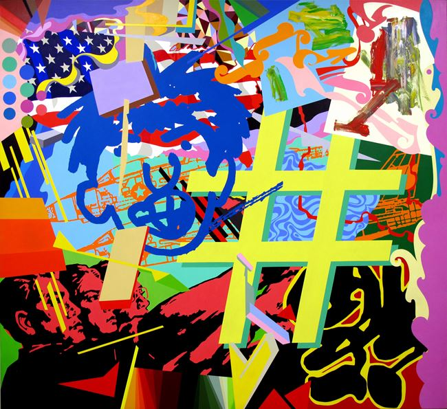 Hashtag by Dongi Lee contemporary artwork