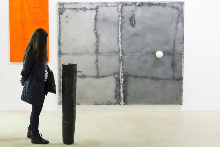 Image: Piotr Lakomy at Galeria Stereo, Statements, Art Basel 2016. © Art Basel.