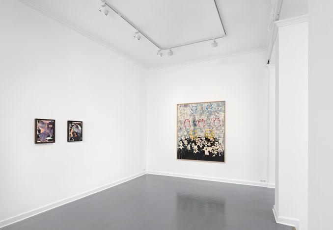 Exhibition view: Group Exhibition,Rebel Revolution Rhineland,SETAREH, Berlin (29 April–26 June 2021). CourtesySETAREH.