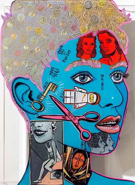 Hanna Hoch by Sam Mitchell contemporary artwork