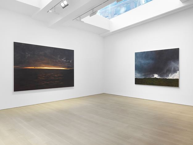 Exhibition view: April Gornik, Miles McEnery Gallery, West 22nd Street, New York (20 February–28 March 2020). Courtesy Miles McEnery.