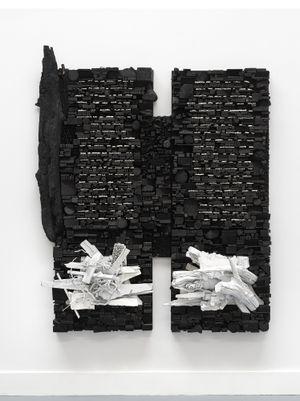 Number 286 by Leonardo Drew contemporary artwork