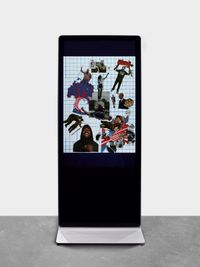 Untitled #4 (Political Collage) by Catherine Opie contemporary artwork moving image
