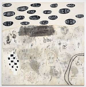We Still Have Music by Squeak Carnwath contemporary artwork