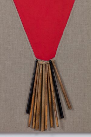 Slit IX by Alexandre da Cunha contemporary artwork